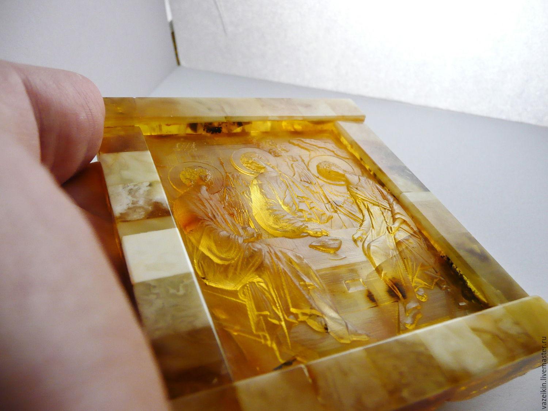 Holy Trinity amber thread, Icons, Kaliningrad,  Фото №1