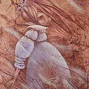 Картины и панно ручной работы. Ярмарка Мастеров - ручная работа По ветру...  Картина пастелью. Handmade.