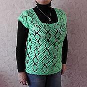 Одежда handmade. Livemaster - original item vest fishnet. Handmade.