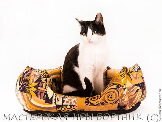 Аксессуары для кошек, ручной работы. Ярмарка Мастеров - ручная работа. Купить большая нестандартная лежанка для кошек, купить, заказать. Handmade.
