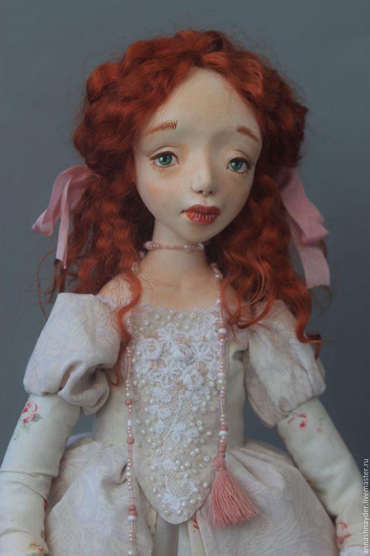 Коллекционные куклы ручной работы. Ярмарка Мастеров - ручная работа. Купить Фрейлина Роза. Handmade. Комбинированный, авторская работа