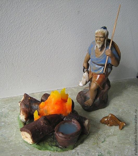 """Мыло ручной работы. Ярмарка Мастеров - ручная работа. Купить Мыло """"КОСТЕР"""" сувенирное. Handmade. Подарки и сувениры, прикольный подарок"""