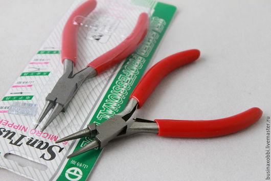 Инструмент для бижутерии круглогубцы для создания колечек и ровных петелек из проволоки или пинов