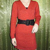 Одежда ручной работы. Ярмарка Мастеров - ручная работа Вязаный костюм-двойка: юбка, блуза. Handmade.