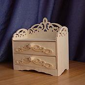 Материалы для творчества handmade. Livemaster - original item Doll`s chest of drawers.147. Handmade.