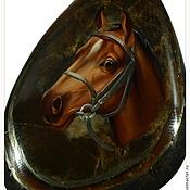 Сувениры и подарки ручной работы. Ярмарка Мастеров - ручная работа Лошадь на ископаемом перламутре. Handmade.
