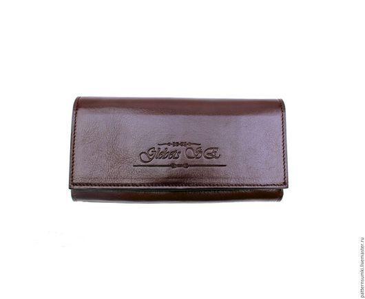 Pattern President  Дизайнерский кожаный кошелёк с Именным клише на любой вкус