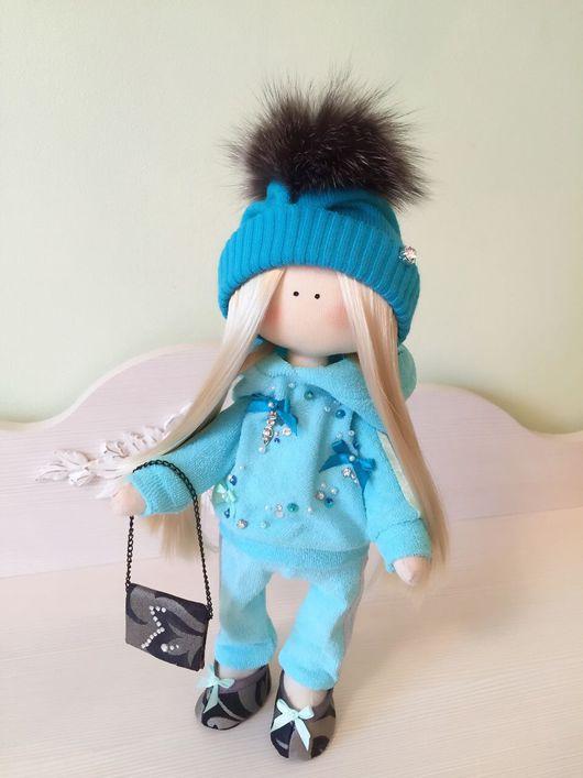 """Куклы тыквоголовки ручной работы. Ярмарка Мастеров - ручная работа. Купить Куколка """"Спортсменка"""". Handmade. Кукла ручной работы, подарок"""