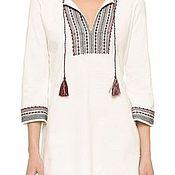 Одежда handmade. Livemaster - original item Womens embroidered tunic style Boho ЖР3-85. Handmade.