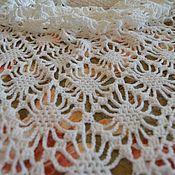 Аксессуары handmade. Livemaster - original item White shawl. Handmade.