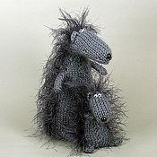Куклы и игрушки ручной работы. Ярмарка Мастеров - ручная работа Ежики)))). Handmade.