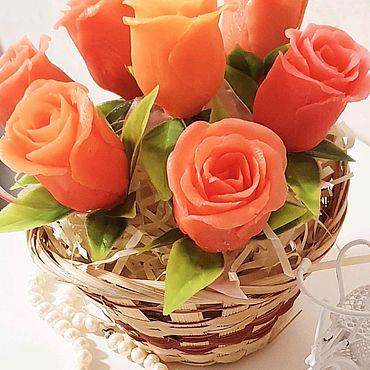 Косметика ручной работы. Ярмарка Мастеров - ручная работа Букет из мыльных роз. Handmade.