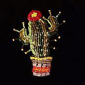 Украшения ручной работы. Ярмарка Мастеров - ручная работа Колючка мексиканская. Handmade.