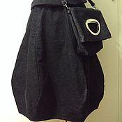 Одежда ручной работы. Ярмарка Мастеров - ручная работа Вельветовая юбка баллон. Handmade.