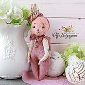 Куклы и игрушки ручной работы. Ярмарка Мастеров - ручная работа Зайка - засыпайка. Handmade.