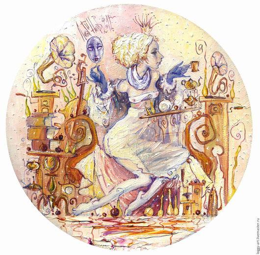 """Символизм ручной работы. Ярмарка Мастеров - ручная работа. Купить """"Принцесса на горошине или приключения юной лежебоки"""". Handmade."""
