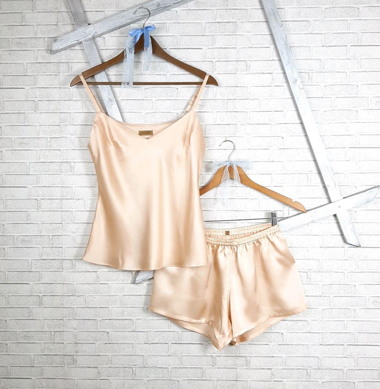 Silk set ' Peach Nude', Underwear sets, Volgograd,  Фото №1