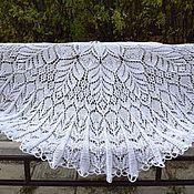 Аксессуары handmade. Livemaster - original item Shawl white. Handmade.