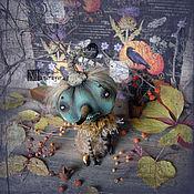 Куклы и игрушки ручной работы. Ярмарка Мастеров - ручная работа Голубая тыква. Handmade.