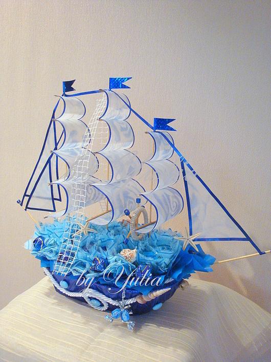 """Кулинарные сувениры ручной работы. Ярмарка Мастеров - ручная работа. Купить Корабль """"Кругосветное путешествие"""" и """"Кругосветное путешествие 2"""". Handmade."""