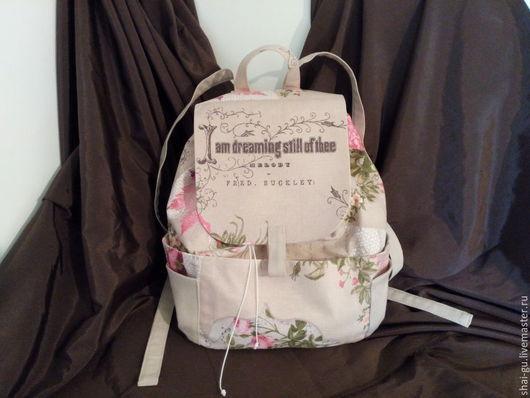 рюкзак ручной работы для девушки