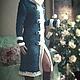 """Верхняя одежда ручной работы. Ярмарка Мастеров - ручная работа. Купить пальто""""Снегурочка"""". Handmade. Вязаное пальто, пальто вязаное"""