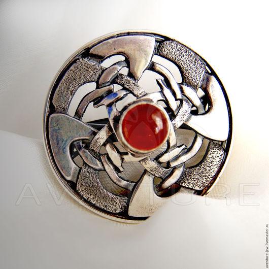 Кольца ручной работы. Ярмарка Мастеров - ручная работа. Купить Кольцо серебро Кельтский щит. Handmade. Серебряный, серебро