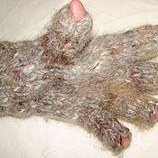 Аксессуары handmade. Livemaster - original item Glovelettes made of dog hair