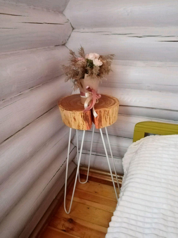 Столик интерьерный в экостиле, Столы, Владимир,  Фото №1