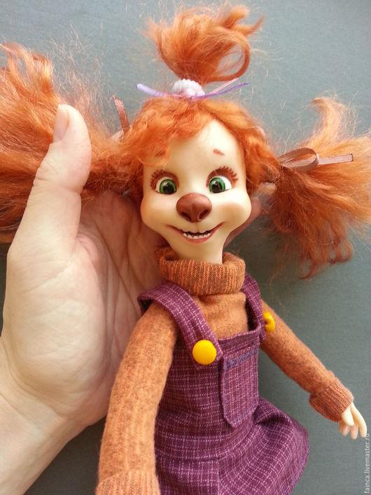 Коллекционные куклы ручной работы. Ярмарка Мастеров - ручная работа. Купить Лиза Барбоскина. Handmade. Рыжий, мультяшный герой