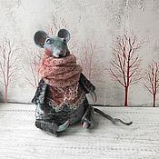 Куклы и игрушки handmade. Livemaster - original item interior doll: Mr Rats. Handmade.