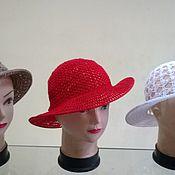 """Аксессуары ручной работы. Ярмарка Мастеров - ручная работа """"Госпожа""""  шляпка. Handmade."""