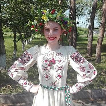 Одежда ручной работы. Ярмарка Мастеров - ручная работа Концертная рубаха, сценический костюм с оригинальной вышивкой. Handmade.
