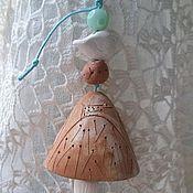 Винтаж handmade. Livemaster - original item Bell ceramic. Cyprus. Handmade.