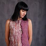 "Одежда handmade. Livemaster - original item Valyany blouse ""Amethyst"". Handmade."