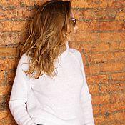 Одежда handmade. Livemaster - original item Classic lightweight sweater. Handmade.