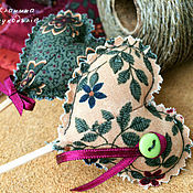 Куклы и игрушки ручной работы. Ярмарка Мастеров - ручная работа Текстильные сердечки. Handmade.