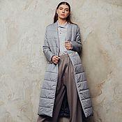 Одежда handmade. Livemaster - original item Gavana insulated coat. Handmade.