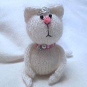 Куклы и игрушки handmade. Livemaster - original item Knitted kitty Mimi. Handmade.