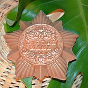 """Косметика ручной работы. Ярмарка Мастеров - ручная работа Мыло медаль """"Лучшая мама"""". Handmade."""