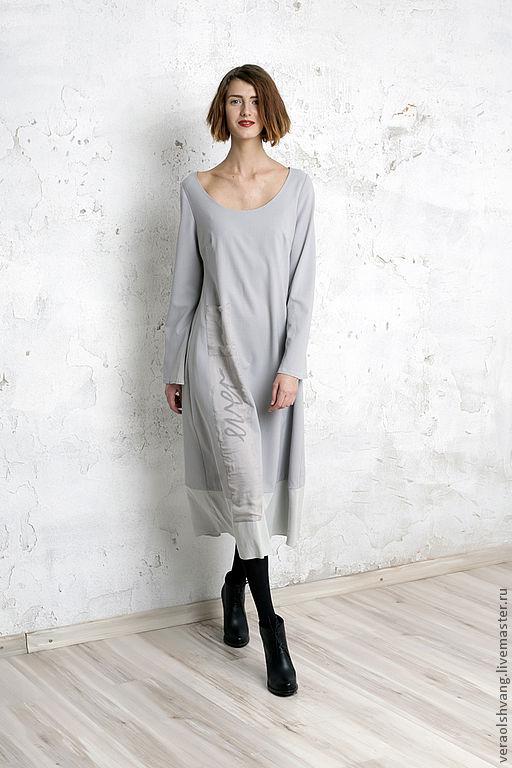 f137ab8710d Шерстяное платье с шифоновой отделкой в интернет магазине