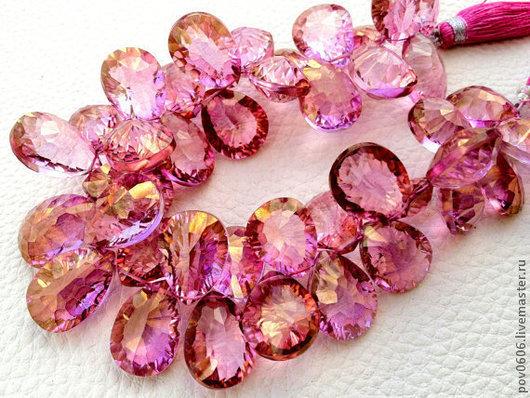 Для украшений ручной работы. Ярмарка Мастеров - ручная работа. Купить Мистик - кварц (Розовый). Handmade. Розовый