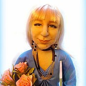Куклы и игрушки ручной работы. Ярмарка Мастеров - ручная работа Первая учительница. Авторская кукла.. Handmade.