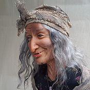 Куклы и игрушки ручной работы. Ярмарка Мастеров - ручная работа характерная кукла Баба Яга. Handmade.