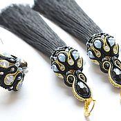 Украшения handmade. Livemaster - original item Soutache earrings in the style of Oscar your booking. Handmade.