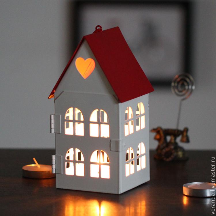 Подсвечник дом