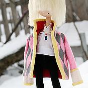 """Куклы и игрушки ручной работы. Ярмарка Мастеров - ручная работа Хаул - кукла ручной работы по мотивам аниме """"Ходячий замок"""". Handmade."""