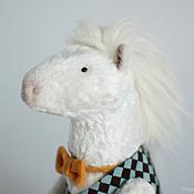 Куклы и игрушки ручной работы. Ярмарка Мастеров - ручная работа Белый пони.. Handmade.