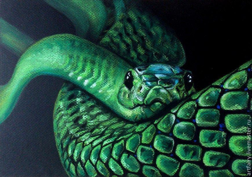 - Peinture effet serpent ...