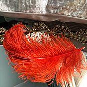 Винтажные головные уборы ручной работы. Ярмарка Мастеров - ручная работа Антикварное французское перо. Handmade.